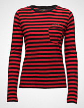 Zadig & Voltaire Regy Stripes Mariniere Ml Cotton Modal Broderie
