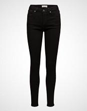 Selected Femme Slfida Mw Skinny  Black Jeans W Noos