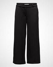2nd One Eloise 805 Crop, Black Plissé, Pants