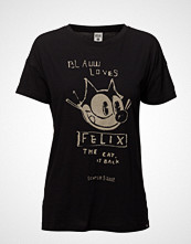 Scotch & Soda Ams Blauw Felix The Cat S/S Tee