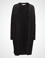 Selected Femme Slflivana Ls Knit Cuff Cardigan Noos Strikkegenser Cardigan Svart SELECTED FEMME
