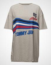 Tommy Jeans Tjw Logo Print Tee Dress