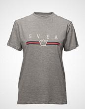 Svea Pryce Tee T-shirts & Tops Short-sleeved Grå SVEA