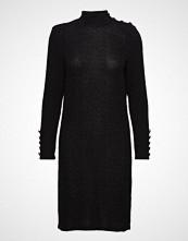 Imitz Dress-Jersey Knelang Kjole Svart IMITZ