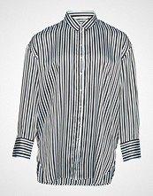 Violeta by Mango Striped Flowy Shirt