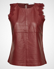 Coster Copenhagen Leather Top W. Lace