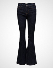 Mango Decorative Seam Flared Jeans
