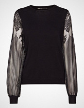 Only Onlviktoria L/S Lace Pullover Knt