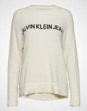 Calvin Klein Alpaca Blend Logo Cr