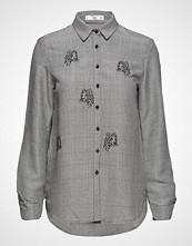 Mango Embroidered Detail Shirt
