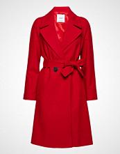 Mango Buttoned Wool Coat