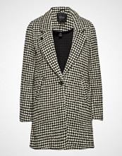 Scotch & Soda Bonded Wool Jacket In Checks And Solids Ullfrakk Frakk Svart SCOTCH & SODA