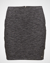 Superdry Edison Mini Skirt Kort Skjørt Grå SUPERDRY