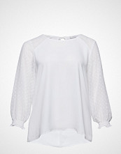 Violeta by Mango Sheer Polka-Dot Blouse
