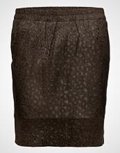 Coster Copenhagen Skirt In Suede W. Leopard Print