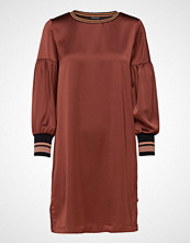 Scotch & Soda Dress With Voluminous Sleeves And Sporty Ribs