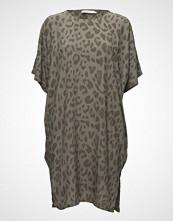 Rabens Saloner Bright Leopard Dress