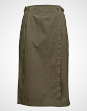 T by Alexander Wang Midi Wrap Skirt