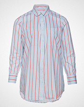 Violeta by Mango Striped Cotton Shirt