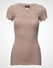 Rosemunde Silk T-Shirt Regular Ss W/ Vintage