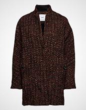 Mango Flecked Wool-Blend Coat