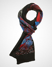 Desigual Accessories Scarf Sequinflower Skjerf Blå DESIGUAL ACCESSORIES