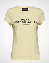 Peak Performance W Logo Ss