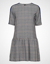 Only Onysophie Check S/S Panel Dress Wvn