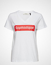 Pieszak Sophistique Ss Tee T-shirts & Tops Short-sleeved Hvit PIESZAK