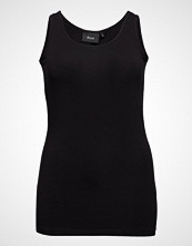 Zizzi Tank Top T-shirts & Tops Sleeveless Svart ZIZZI