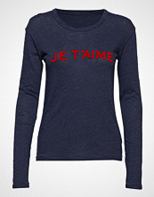Zadig & Voltaire Willy Chine Overdyed Je T'Aime T-Shirt Ml Cot/Visc