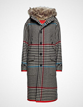 Hilfiger Collection Long Hooded Coat