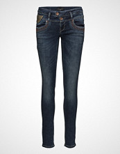 Pulz Jeans Anett Midwaist Skinny Skinny Jeans Blå PULZ JEANS