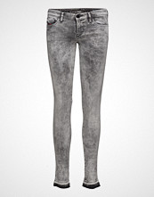 Diesel Women Skinzee-Low Trousers Skinny Jeans Grå DIESEL WOMEN