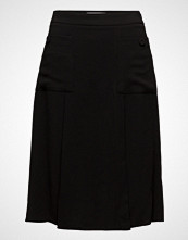 Mango Flared Midi Skirt