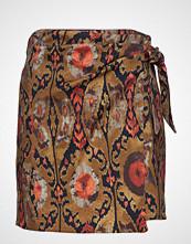 Mango Textured Printed Skirt