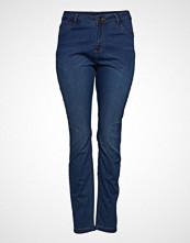 Zizzi Jeans Long, Nille Ex. Slim Skinny Jeans Blå ZIZZI