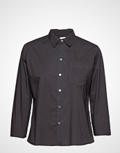 Hope Zand Shirt Langermet Skjorte Svart HOPE