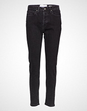 Tomorrow Hepburn Hw Mom Original Black Slim Jeans Svart TOMORROW