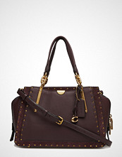 Coach Border Rivets Mixed Leather Dreamer