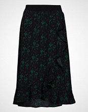 Saint Tropez Woven Skirt Below Knee