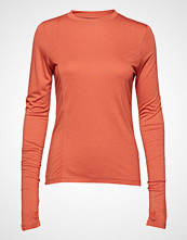 Holzweiler Warped Top T-shirts & Tops Long-sleeved Oransje HOLZWEILER
