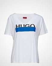 HUGO Naria T-shirts & Tops Short-sleeved Hvit HUGO
