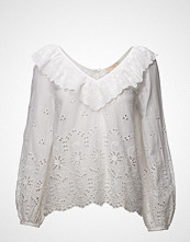 by Ti Mo Broderie Anglaise Blouse