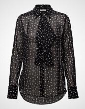 Hunkydory Clinton Spades Shirt Bluse Langermet Svart HUNKYDORY