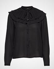 Only Onlrina Ls Plisse Shirt Wvn