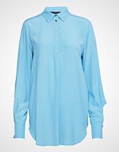 Designers Remix Edna Sleeve Langermet Skjorte Blå DESIGNERS REMIX