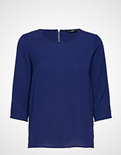 Only Onlnova Lux 3/4 Sleeve Top Solid 2 Wvn