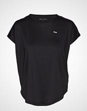 Röhnisch Leo Loose Top T-shirts & Tops Short-sleeved Svart RÖHNISCH