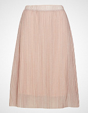 Mango Pleated Metal Thread Skirt